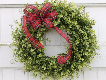 Boxwood Wreath Non- fragrance In-door/out door wreath