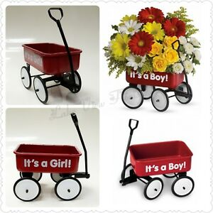 BOY/ GIRL wagon  in Paradise, NL | PARADISE FLOWERS & GIFTS