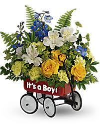 Boy/ Girl Wagon Baby