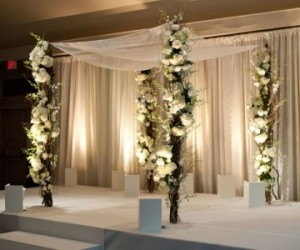Branch-y Chuppah  in Teaneck, NJ | Teaneck Flower Shop (A.A.A.A.A.)