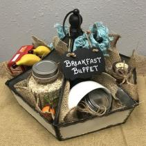 Breakfast Buffet Custom Gift Basket