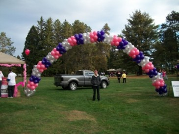 Breast Cancer Arch Balloons