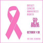 Breast Cancer Awareness Offer