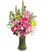 Breath of Happiness Soft flowers for a loved one