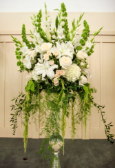 Breath Taking  Wedding Alter Arrangement