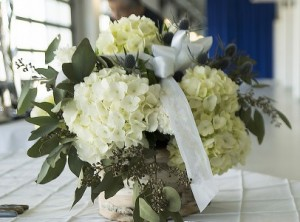 Breathtaking Birch Table Arrangemant in Port Huron, MI | CHRISTOPHER'S FLOWERS