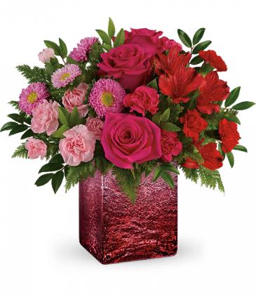 Breathtaking Ombre Bouquet Fresh Arrangement