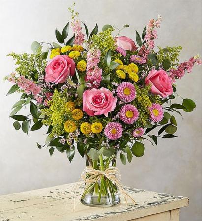 Breezy Bouquet  Flower Vase