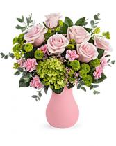 Breezy Pink vase