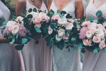 Bridal and Bridesmaid Bouquets  Wedding