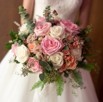 Bridal Blush Bridal Bouquet
