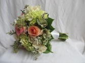 Bridal Bouquet Fresh Bridal Bouquet in Farmville, VA | CARTERS FLOWER SHOP
