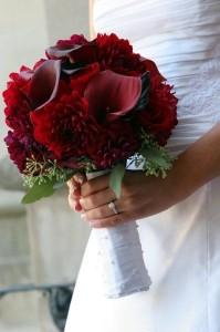 Bridal Bouquet Hand Tied in Port Stanley, ON | FLOWERS BY ROSITA
