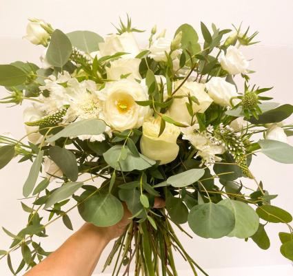 Bridal Bouquet in whites and creams Wedding