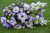 Bridal Bouquet Lisianthus  Wedding
