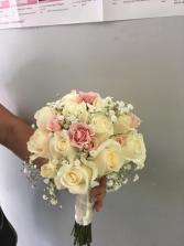 bridal bouquet rosas