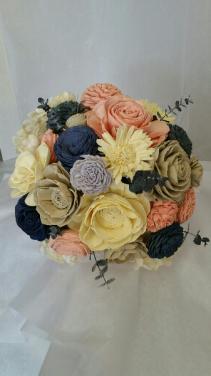 BRIDAL BOUQUET SOLA WOOD FLOWERS