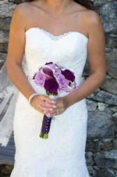 Elegant Calla Lily Bridal Bqt