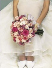 Tones of Pinks Bridal Bouquet