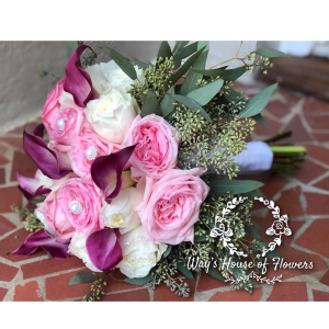 Bridal Bouquet  Wedding Flowers in Albany, GA | WAY'S HOUSE OF FLOWERS