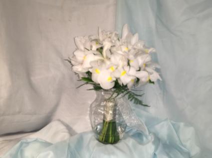Bridal bouquet  White Iris