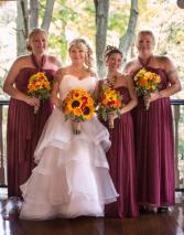 Bridal Bouquets: Fall Tones
