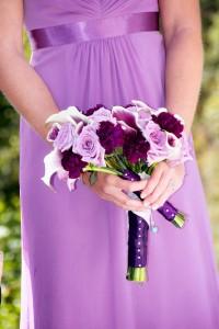 Elegant Calla Lily Wedding Party Bqts
