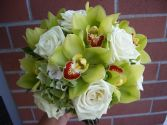 ORCHID OBSESSION Bridal Bouquet