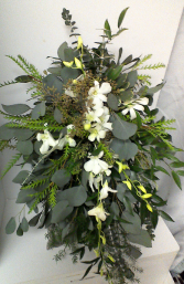 Bridal Cascade Bridal bouquet