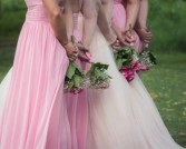 Bridal Package For The Distant Bride Bride and groom basic long distance package with common flowers