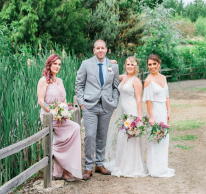 Bridal Party Wedding Flowers  in Milwaukie, OR | Mary Jean's Flowers by Poppies & Paisley