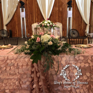 Bridal Table  in Albany, GA | WAY'S HOUSE OF FLOWERS