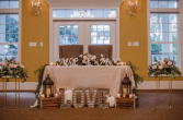 Bride and Groom Table  Wedding