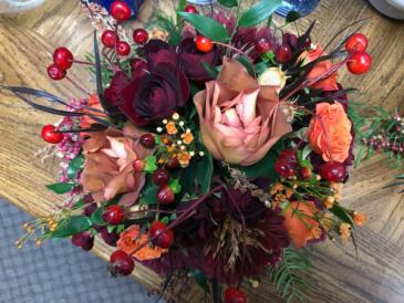 Harvest Moon Bridal Bouquet