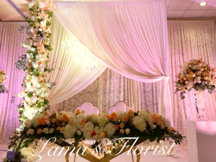 Bride & Groom Centerpiece