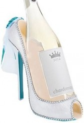 Bride Shoe  Wine Bottle Holder