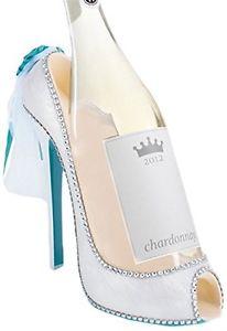 Bride Shoe  Wine Bottle Holder