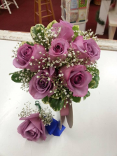 Brides bouquet & Boutonniere  Wedding bouquet