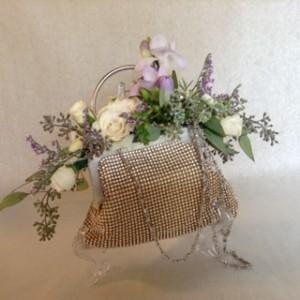 Bridesmaid Purse Bouquet