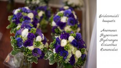 Bridesmaids Bouquets In Broadway Va Evergreen Victoria Floral