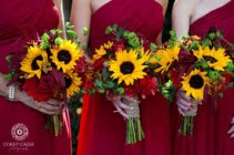 BRIDESMAIDS BOUQUETS HAND TIED BOUQUETS