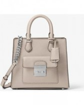 Bridgette Small Messenger Leather Bag Michael Kors