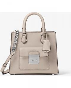 Bridgette Small Messenger Leather Bag Michael Kors