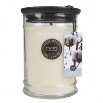 Bridgewater Candle 18OZ LARGE JAR WHITE COTTON