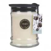 Bridgewater Candle 8OZ SMALL JAR WHITE COTTON