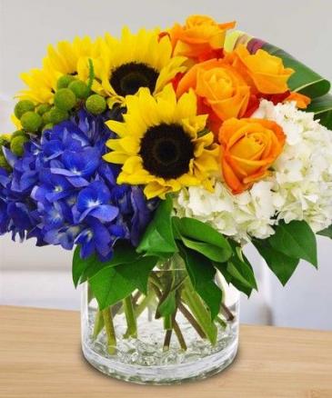 Bright and Beautiful flower arrangement