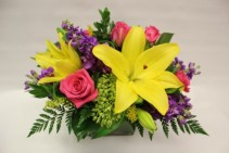 Bright and Beautiful Fresh Arrangement