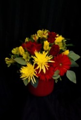 Bright and Beautiful Mom Fresh cut arrangement