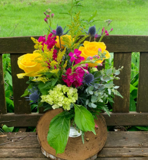 Bright and Blissful Summer Vase Arrangement in Iowa City, IA | Every Bloomin' Thing