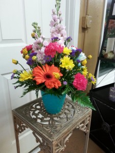 Bright and Bold Fresh arrangement